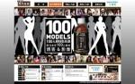 SUNTORY黒烏龍茶100モデルを使用したキャンペーンサイト